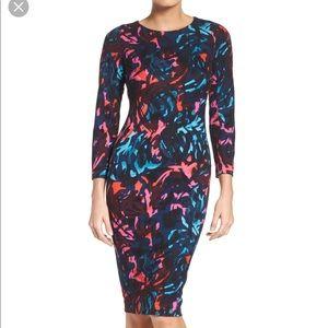 Felicity and Coco Print Sheath Dress